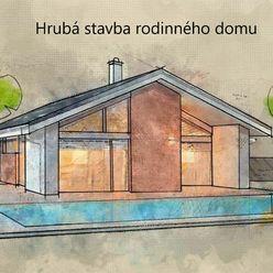 Hrubá stavba rodinného domu 2 km od Dunajskej Stredy