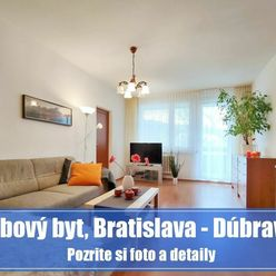 4 izbový byt v DÚBRAVKE je ideálny domov na výchovu detí