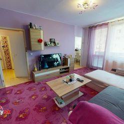Na predaj 2-izbový byt v Trenčíne, ulica Kyjevská, sídlisko Juh.