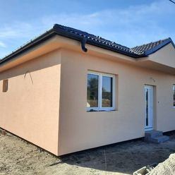 Z poverenia majiteľa, ponúkame na predaj novostavbu 4-izbového rodinného domu v obci Dunakiliti - HU