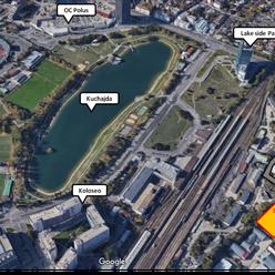 Predaj pozemku 8 300 m² na komerčné účely v lokalite mesta Bratislava - Nové Mesto