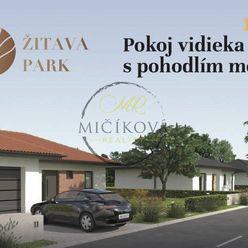 Rezidenčná zóna - ŽITAVA PARK, 118 novostavieb rodinných domov, Vráble