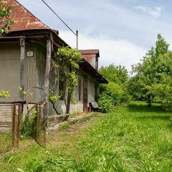 EXKLUZÍVNE - Vaľkový dom, 29á pozemok, Lučkovce (okres Michalovce)