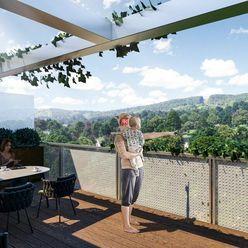 HERRYS - Na predaj 2 izbový byt s loggiou v novom rezidenčnom projekte Pod Vinicou