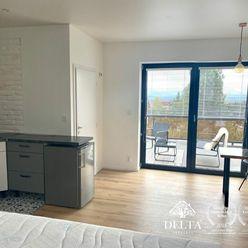Pekný 1izbový byt s terasou na prenájom, Nová Lesná