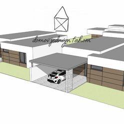 PREDAJ, moderný 4-izbový rodinný dom s terasou, 116 m2, Galanta