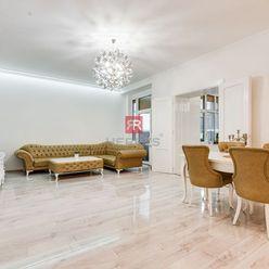 HERRYS - Predaj - 5 izbový veľkometrážny kompletne rekonštruovaný byt s vysokými stropmi a zimnou zá