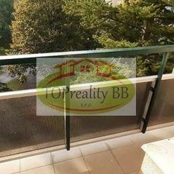 Byt 1 izbový, s lodžiou a balkónom 27  m2, B. Bystrica, Fončorda –  Cena 86 000 €