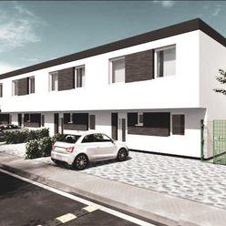 NEO- novostavba 4i rodinného domu, úžitková plocha 107,84m2 a pozemok 142,27m2
