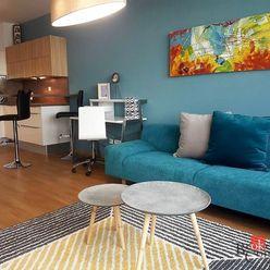 Prenájom, nový 1 izbový byt s parkovaním, Bratislava I – Staré Mesto, Drotárska cesta,  kompletne za
