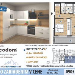 2 izbový byt 6 poschodie so zariadením v CENE!! AKCIA!!