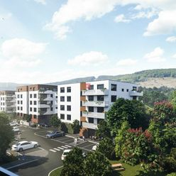 HERRYS - Na predaj 2 izbový byt s dvomi terasami a predzáhradkou v novom rezidenčnom projekte Pod Vi