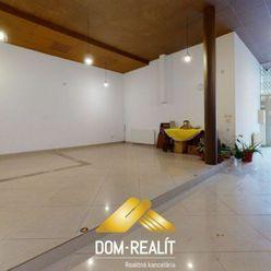 DOM-REALÍT ponúka Prenájom Obchodných priestorov - 80 m2 v Historickom centre, Zámocká ul.