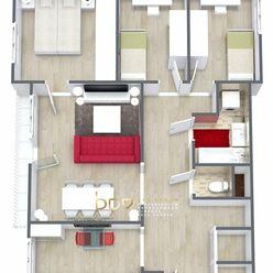 BpV ponúka na predaj 4 izbový byt v Novom Meste nad Váhom