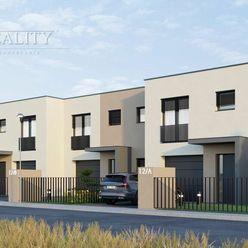 Novostavba 4i rodinného domu v prevedení štandard, garáž, oplotenie, pozemok 440 m2, Opatovce