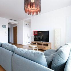 HERRYS, Predaj 3 izbového bytu s výhľadom na Bratislavský hrad v novostavbe PANORAMA CITY