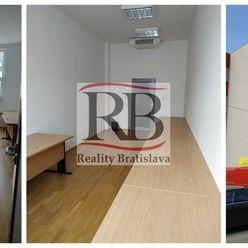 Kancelária 22 m² v Petržalke na prenájom