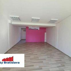 Províziu RK neplatíte! Prenájom obchodné priestory 69m2 v OD Slimák, Hálkova, BA - Nové Mesto