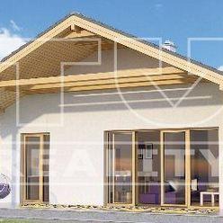 Novostavba 4 izbového bungalovu, pozemok 662 m2, Smolenice, okr. Trnava