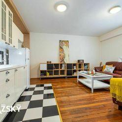REZERVOVANÉ ꓲ 2i byt ꓲ 43 m2 ꓲ ŠANCOVÁ ꓲ útulný byt, medzi Trnavským a Račianskym mýtom