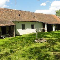 Chalupa v pôvodnom stave s veľkým pozemkom Lakšárska Nová Ves!!!