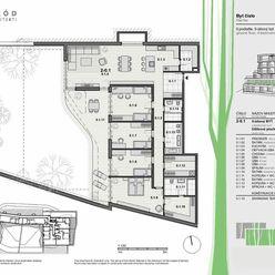 PREDAJ - 5-izbový byt v projekte VILLA RUSTICA-TERASY 2, Dúbravka