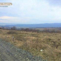 Predaj 4 pozemky, výmera od 451 m2 - 573 m2, Červená Voda, Sabinov