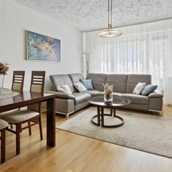 Klimatizovaný 3 izbový byt po kompletnej rekonštrukcii