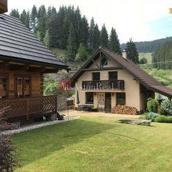 PREDAJ: Rodinný dom s drevenicou - 1.221m2, Čierny Balog - Dobroč