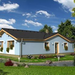 Na predaj  2 x novostavba 4 izbového RD s pozemkom o výmere 650 m2 v Gajaroch