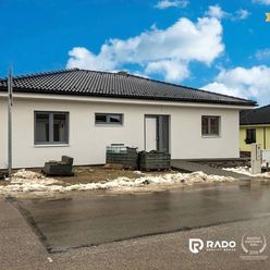 Na predaj novostavba 4i bungalovu v novej časti obce Ivanovce