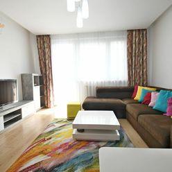 Home4me PRENÁJOM 3 izbového bytu v Ružinove, Mierová, balkón, zariadený, parking