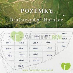 Na predaj záhradné pozemky v krásnom prostredí - Družstevná pri Hornáce - Malá Vieska