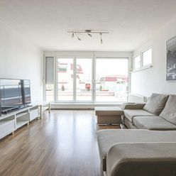 HERRYS - Na prenájom priestranný 3izb byt so šatníkom, terasou a garážovým státím na Dlhých Dieloch