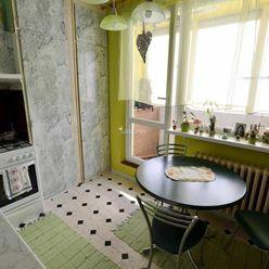 1-izbový byt prerobený na 2-izbový,s balkónom,Poprad