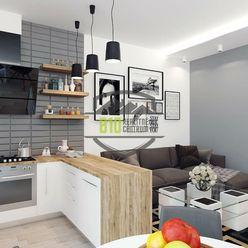 Rezervované - Exkl. - 1 izb. byt, čiast. rekonštrukcia, 34 m2, Hlohová ul., Hlohovec