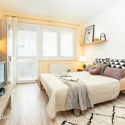 Arvin & Benet | Svetlý 1i byt s veľkým balkónom vo výbornej lokalite