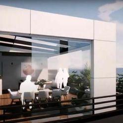 2jky s 2ma veľkými terasami na streche pre individualistov