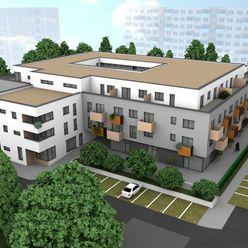 NA PREDAJ 3-izbový byt s balkónom, moderný a vzdušný  byt č. 3.16 v REZIDENCII KYJEVSKÁ LEVICE