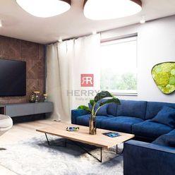 HERRYS - Na predaj 3 izbový byt s balkónom v novom rezidenčnom projekte Pod Vinicou