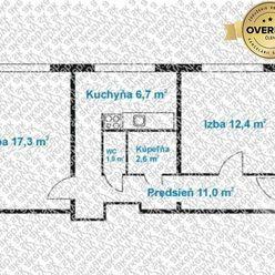 Predaj 2izb.byt, Bratislava II, Vrakuňa, Slatinská ul.
