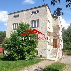 Na predaj priestranný rodinný dom - Šidlovec