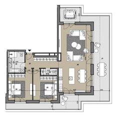 4i byt s terasou na najvyššom poschodí Zelené Vlčince  (D.808)