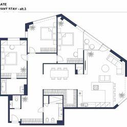 JEDINEČNÁ PONUKA - 4-i byt s rozlohou 150 m2, 2x garážové parkovanie