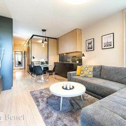 Arvin & Benet | Priestranný, moderný 1,5i byt v žiadanom projekte Tehelné pole | Rezervované