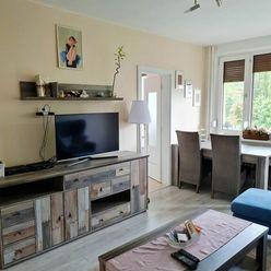 Rekonštr., priestranný 4-izb. byt v peknom tichom prostredí, K.Ves s loggiou