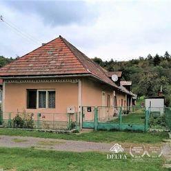 Dom 3-izb.s pozemkom 744 m2 Zvolen-Turová predaj