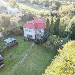 Na predaj rodinný dom s veľkým pozemkom v Košickej Belej