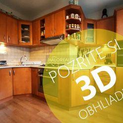 HALO reality - Predaj, trojizbový byt Poprad, Uherova - EXKLUZÍVNE HALO REALITY