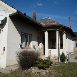 Rodinný dom Medzev-rezervovaný